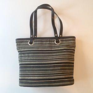 Gap Factory Store - Tote Bag Purse w Zipper Pocket